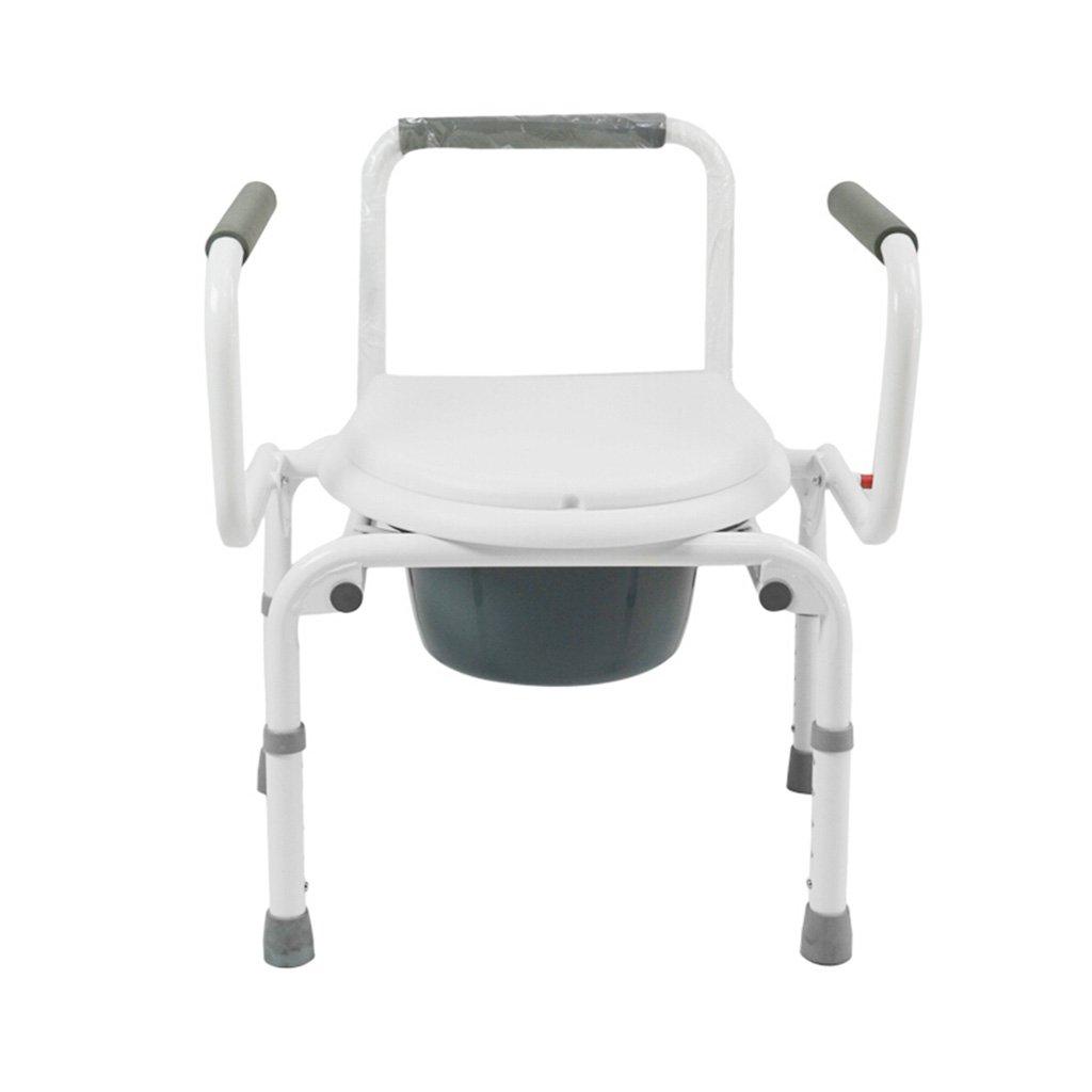 GRJH® シャワー椅子、高さ調節可能バスルーム椅子老人トイレチェア 防水,環境の快適さ B0799D2DQ7