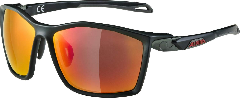 ALPINA Twist Five cm+ Sportbrille (Farbe  071 seamoss matt, Scheibe  Ceramic Mirror, ROT Mirror (S3))