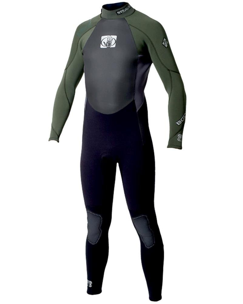 Body Glove Surf Stealth 5 4 mm Wetsuit in Black D. Green Water Ski Suit  Men s Wetsuit Surf Kite Wake Size S  Amazon.co.uk  Sports   Outdoors 78d1de7e2