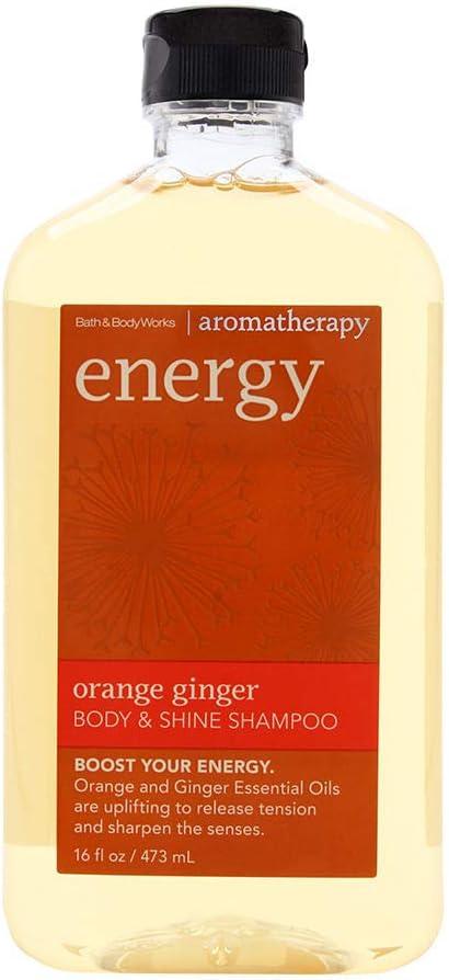 Bath Body Works Orange Ginger Energy Aromatherapy Shampoo 16 Ounce Amazon Co Uk Beauty