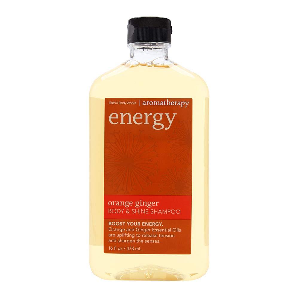 Amazon Com Bath Body Works Orange Ginger Energy Aromatherapy Shampoo 16 Ounce Hair Shampoos Beauty