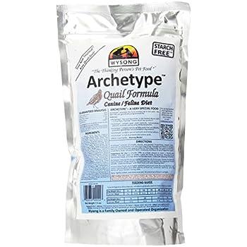 Wysong Archetype Quail Raw Formula Canine/Feline Diet Dog/Cat Food - 7.5 Ounce Bag