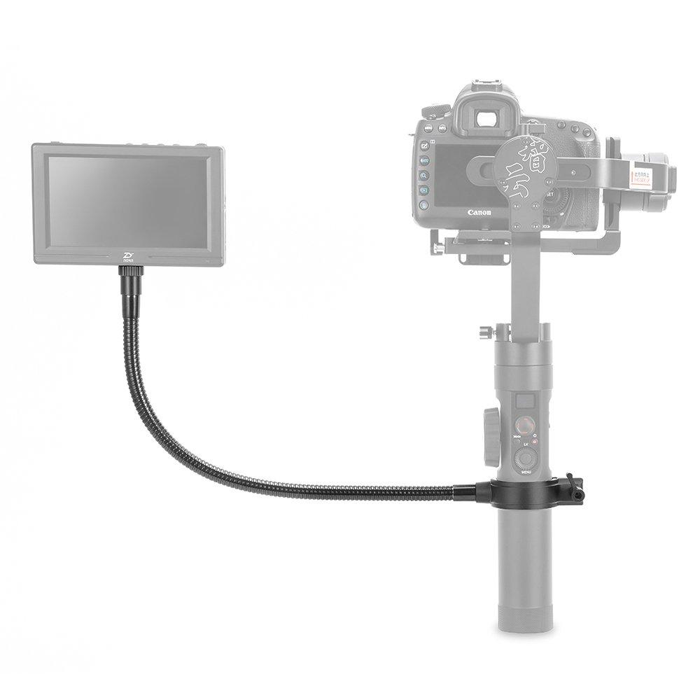 ZHIYUN Crane 2 Monitor LED luz de llenado micró fono con Agujero de Tornillo 1/4' con Tubo Flexible, Cá maras de acció n(400mm) Cámaras de acción(400mm) ZY44TMH-UK