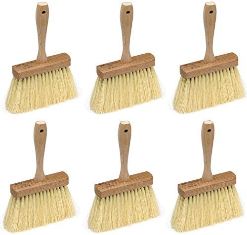 Marshalltown 829 6-1/2'' L X 1-3/4'' W Tampico Fiber Masonry Brush by Marshalltown