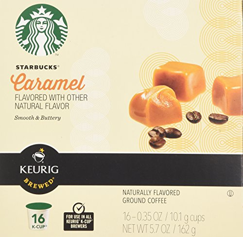 Starbucks® Caramel Flavored K-Cup® Packs, 32-count