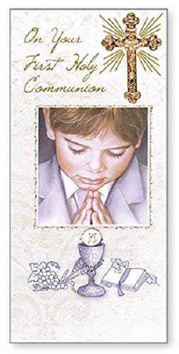 Primera Comunión en caja tarjeta de felicitación - Boy ...