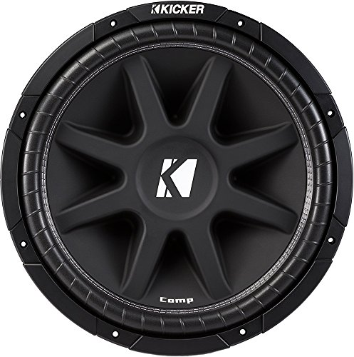 KICKER Comp 15' 600W Car Subwoofer Power Sub...