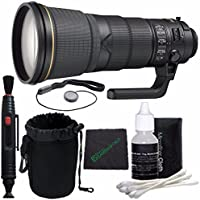 Nikon AF-S NIKKOR 400mm f/2.8E FL ED VR Lens + Lens Cleaning Pen + Microfiber Cleaning Cloth + Lens Cap Keeper + SLR Lens Pouch Bundle