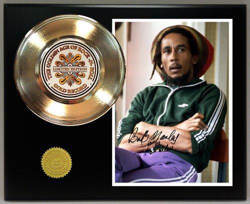 Bob Marley Memorabilia (Bob Marley 24Kt Gold Record Signature Series LTD Edition)