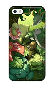 Hot SkxOEmm4343aXykp Pokemon Starters Tpu Case Cover Compatible With Iphone 5/5s