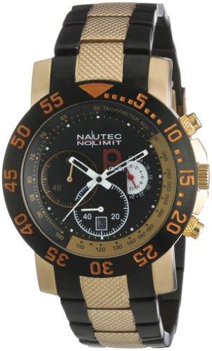 Nautec No Limit Men's Watch(Model: RP QZ/IPRGIPBKRG)