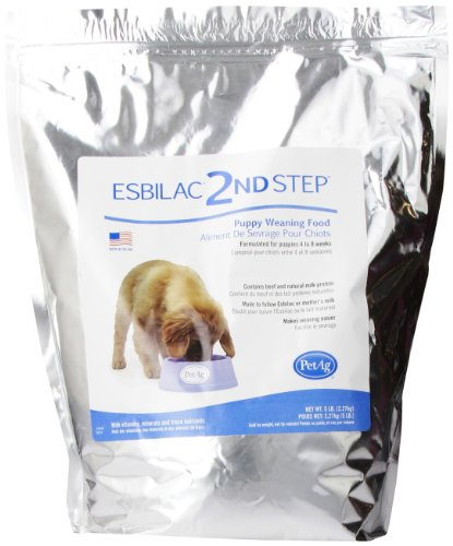 2Nd Step Puppy Weaning Food, 5-Pound (Dog Formula Milk)