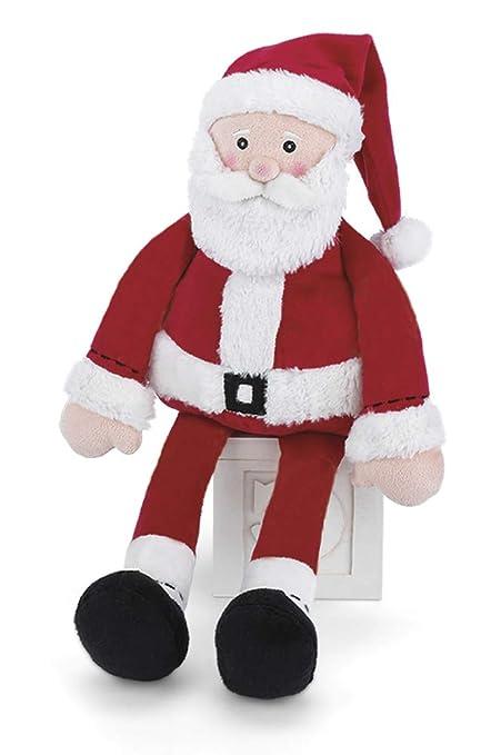 Amazon.com: Bearington Baby Santa Navidad felpa peluche 16 ...