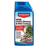 Bayer Advanced 701285B 3-in-1 Insect Disease & Mite Control Concentrate, 32-Ounce, White