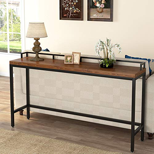 Tribesigns 70 9 Inch Extra Long Solid Wood Console Table Behind Sofa Couch Industrial Narrow Entryway Skinny For Living Room Hallway Small Space Pricepulse