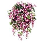 Afloral-Fuchsia-Pink-Silk-Wisteria-Bush-31-Long