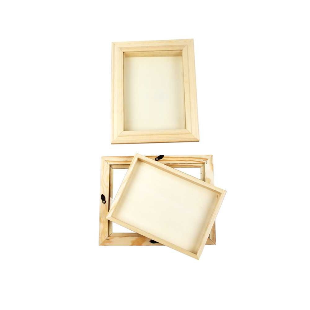 Creativ 3D-Rahmen mit Glas, 18x24 cm, Kiefernholz, 1 Stck.: Amazon ...