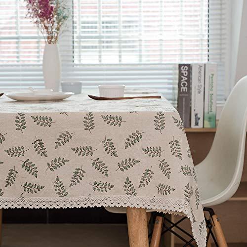 HXRA Manteles Mantel al Aire Libre Pastoral Arrow Pattern Pano de Mesa Decorativo Mantel de Lino de algodon Mesa de Comedor Cubierta para Cocina Decoracion para el hogar-140x1