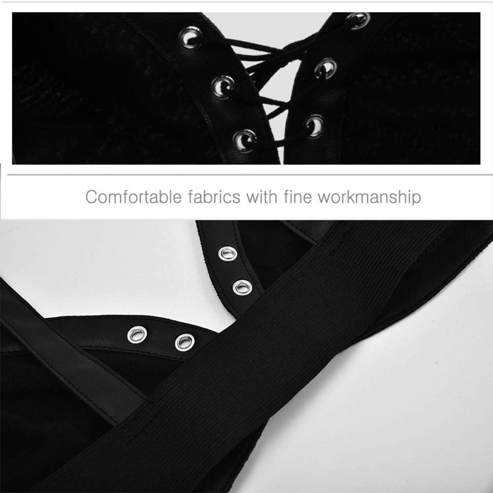RL Female Punk Rock Gothic Personality Bra Woman No Rims Bra Ms Gather Underwear Female Black Bra