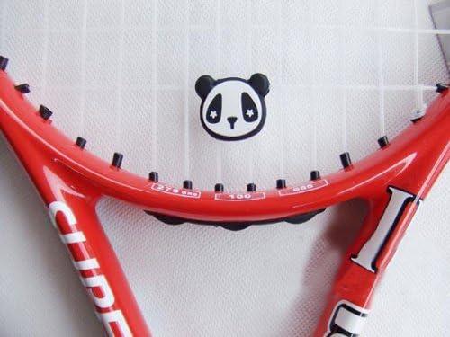 Amazon.com: Wotefusi Panda Tennis Racquet Vibration Dampener ...