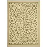 Cheap Safavieh Courtyard Collection CY2098-1E01 Natural and Olive Indoor/Outdoor Area Rug (9′ x 12′)