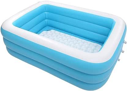 AMICA Piscina Familiar Piscina Hinchable Durable Plastic Pool ...