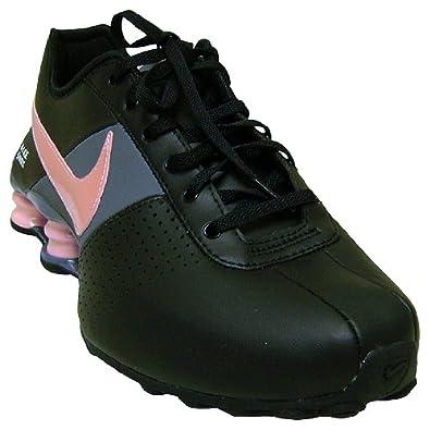 newest 38245 6a714 Nike Women Shox Deliver Black Medium Soft Pink Flint Grey 317549-061   Amazon.co.uk  Shoes   Bags
