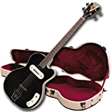 Kay Reissue K162VBK Pro Electric Bass Guitar - Black - (Refurbished)