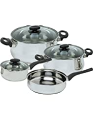 Magefesa Deliss Stainless Steel 7 Piece Cookware Set