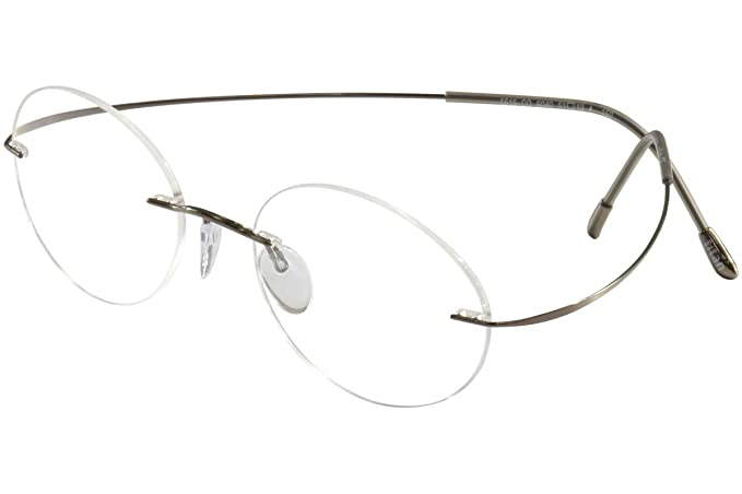 2c4579b09a6 Silhouette Eyeglasses TMA Must Collection Chassis 7799 6102 Optical Frame  17x150