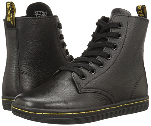 Pictures of Dr. Martens Women's Leyton Boot Black Game on 9 UK US Women 4