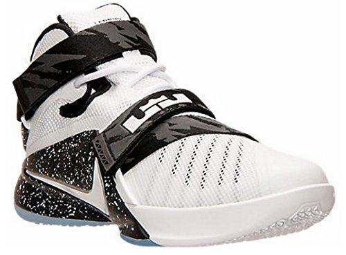Nike Basketball Men's Schwarz Lebron Shoe Weiß Soldier IX rrHPnTFq