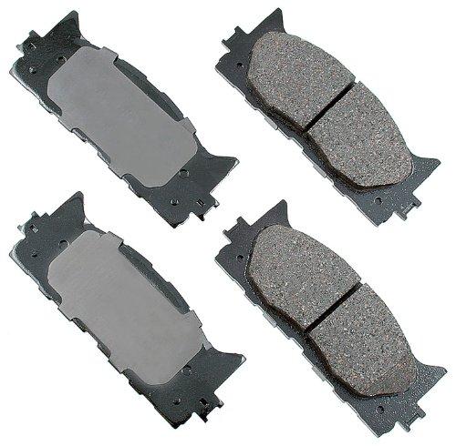 Akebono ACT1222 ProACT Ultra-Premium Ceramic Brake Pad Set