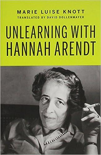 hannah arendt biography book