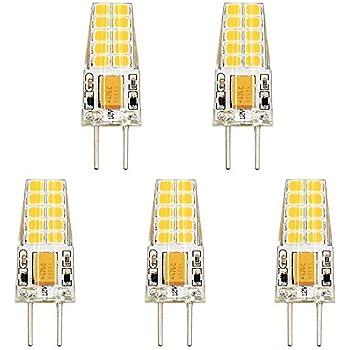 Bonlux 12v G6 35 Led Light Bulb Bi Pin Jc Type 3w Warm