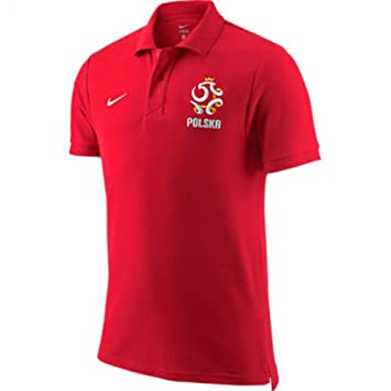 2012-13 Poland Nike Core Polo Shirt (Red): Amazon.es: Deportes y ...