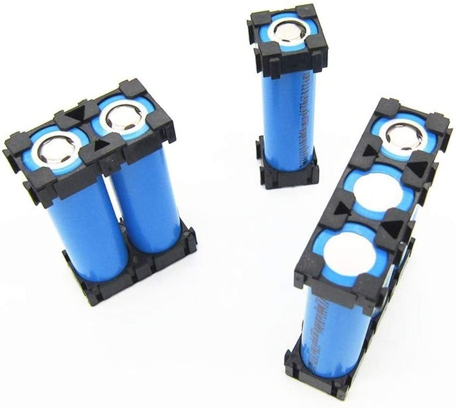 100Pcs Single 18650 Lithium Battery Bracket Fixed Composite Bracket Battery Group Support for Electric Bicycle Power Module