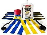 10 Player Flag Football Set by Voplop - 52 Piece Heavy Duty Kit - 10 Belts ...