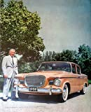 Studebaker Lark, 50's Full Page Color Illustration, 10 1/2