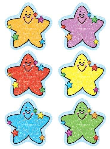 Stars Cut-Outs: Kid-Drawn - Kid Drawn Cd