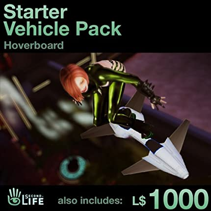 Starter Vehicle Pack - Soar: Second Life [Instant Access]