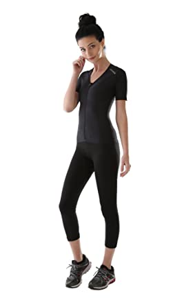 d06a2bcf966f9 ALIGNMED Posture Shirt 2.0 - Zipper - Womens at Amazon Women s ...