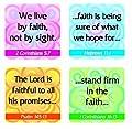Carson Dellosa Christian Faith Verses Stickers (0650)