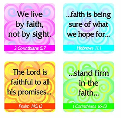 Carson Dellosa Christian Faith Verses Stickers (0650)