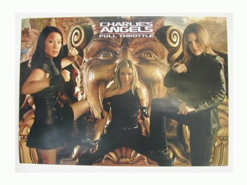 Charlies Angels Poster Full Throttle Lucy Lui Charlie's