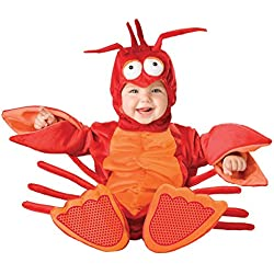 Lil' Lobster Infant/Toddler Costume Red