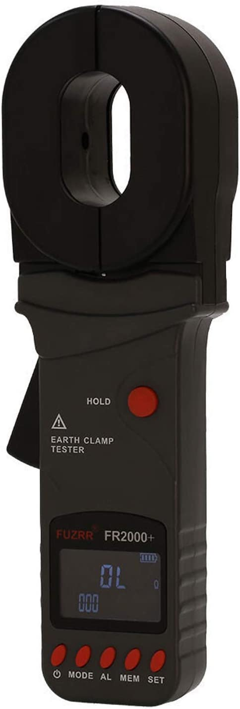 WXQ-XQ FR2000+-0.01-500ohm Clamp On Earth//Loop//GEO Resistance Tester//Meter Earth Ground Tester Digital Clamp Meter