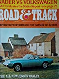 Road & Track Magazine April 1972 Improved Performance for Datsun 510 & 240Z, All-New Jensen-Healey