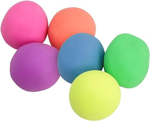 com-four® Pelota antiestrés 6X para Reducir el estrés y Jugar ...