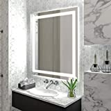 "Homewerks 100150 White 24""x30"" LED Bathroom"